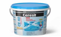 затирка для плитки  Ceresit СЕ 40 Aquastatic