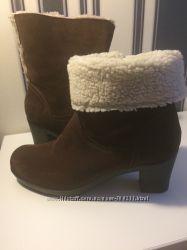 Зимние ботинки Clarks