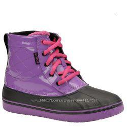 Кожаные ботинки Crocs Ankle Boots Allcast Duck J3