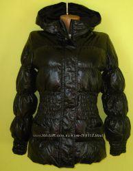 Зимняя куртка Sisley размер С-М, наполнитель - пух