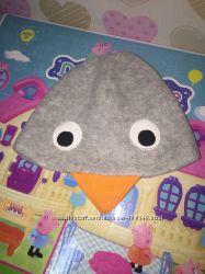 Прикольная флисовая шапочка Tesco 18-24mths