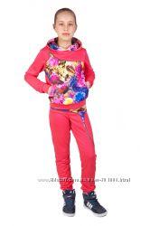 Качественный красивущий спортивный костюм для девочки 6-14 лет