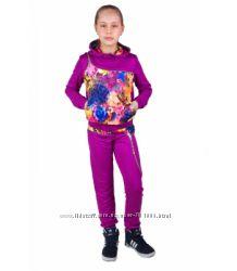 Качественный красивенный костюм для девочки 6-13 лет