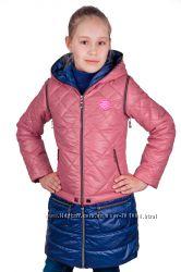 Качественный трансформепр пальто-куртка-жилетка р. 32-42