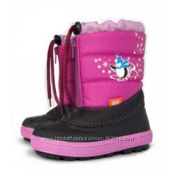Зимние сноубутсы сапоги ботинки дутики на овчине демар demar kenny 20-35