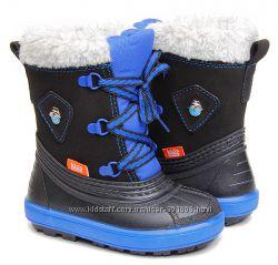 Зимние сноубутсы сапоги ботинки дутики на овчине демар demar billy 20-23