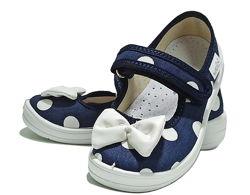 Тапочки капчики для девочки дівчини валди waldi садика дома сменки Алина