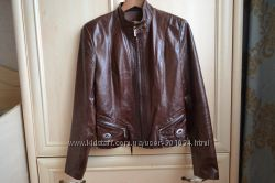 Кожаная куртка-пиджак Раз. - L- Турция