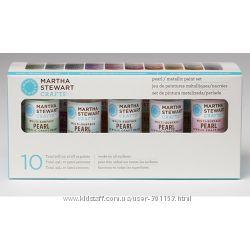 Набір фарби Multi-Surface PearlMetallic Acrylic Craft Paint, 10 шт