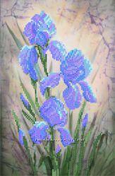 Рисунок  для вышивки бисером цветы