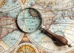 Вышивка бисером на атласе география