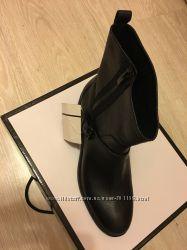 Очень качественные, кожаные ботинки NINE WEST