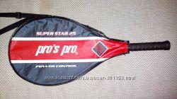детская теннисная ракетка pro&acutes pro super star 25