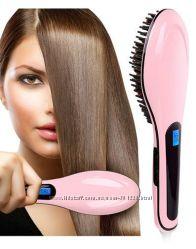 Расческа-выпрямитель Fast hair straightener hot-906