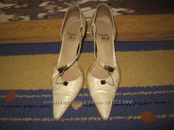 Туфли босоножки Nando Muzi Италия кожанные 39р.
