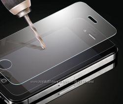 Стекло защитное для телефона Samsung, Xiaomi, Lenovo, LG, iPhone, Meizu