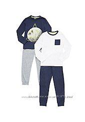 Набор пижам для мальчиков 6-12 лет , F&F Англия, Распродажа