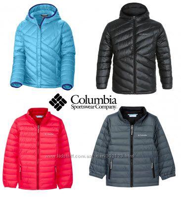 Деми курточки для девочек и мальчиков COLUMBIA оригинал США модели цвета
