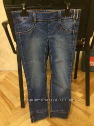 Продам моднючі джинсики на дівчинку BENETON