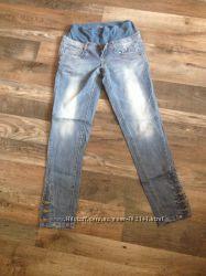 Модные джинсы Ramile для будущей мамы 36р