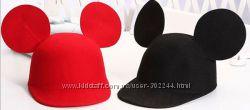 Стильные фетровые шляпки с прикольными ушками
