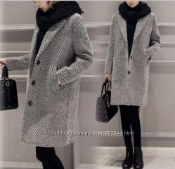 Шерстяное пальто Zara. Нова коллекция. Реал. фото.
