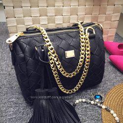 Красивые сумки Moschino . Три цвета.  Реал. фото