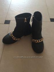 Шикарные ботинки givenchy люкс копия