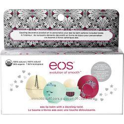 Набор из 3-х бальзамов для губ EOS