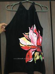 Блуза Monton с принтом