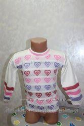 Новый свитер на девочку 1-2 года Турция