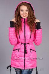 Распродажа Зимняя женская молодежная куртка - парка. Разные цвета