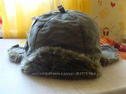 Теплые шапки-ушанки на мальчика
