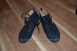 Замшевые синие ботиночки 37, 5 р-р