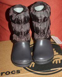 ����� ������ ������ Crocs Winter Puff Boot W8