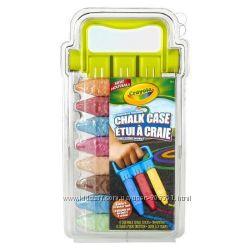 Оригинал Набор мелков Crayola в контейнере с приспособлением для рисования