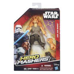 Супер герои от Hasbro. Star Wars Hero Mashers Jar Jar Bin новые из Америки.