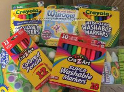 Оригинал Crayola и CraZart большой асортимент низкие цены
