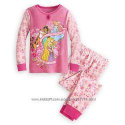 Оригинал Новая Пижама размер 7Т от Disney 100 хлопок