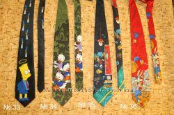 Новогодние, музыкальные, мультяшные галстуки