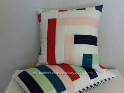 Декоративные лоскутные подушки