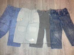 Распродажа Джинсы и брюки на 2-3 года 4 шт