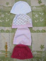 Летние шапочки и панамки  на 3-6м
