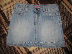 Джинсовые юбочки на рост 152 фирм New look, Denim