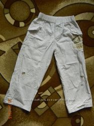 Летние светлые штаны на мальчика. Состояние новых.