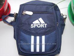 Маленькие компактные мужские сумочки через плечо