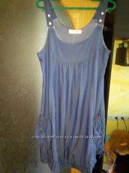 платье-сарафан для беременных почти новый 46-50р