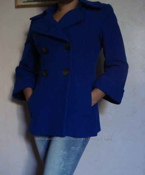 Стильное пальто шерсть и кашемир PTA