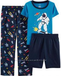 Пижамы Carters на мальчика 8 лет или 130-137см