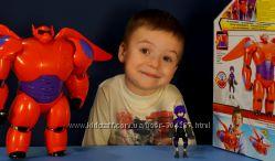 От Disney  Baymax & Hiro Toys  Большой Беймакс и Хиро из Город героев